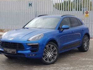 Porsche Macan Sport Design Azul