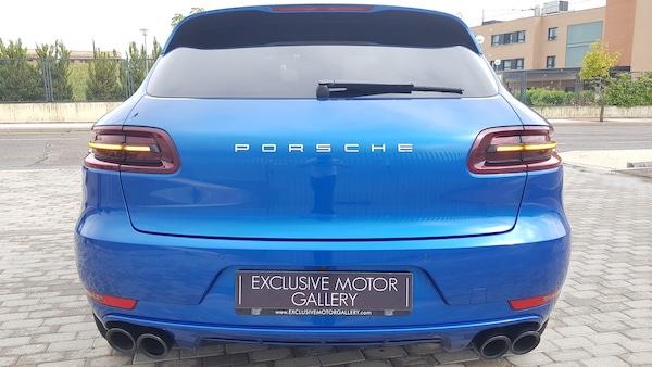 Porsche Macan Sportdesign Azul