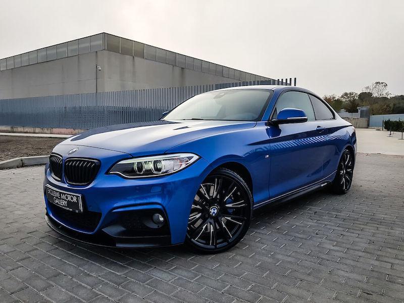 BMW Serie 2 22d coupé M Performance
